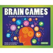 BrownTrout – Calendrier autoportant 2019, Brain Games, (9781620218716)
