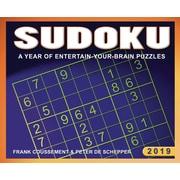 BrownTrout – Calendrier autoportant 2019, Sudoku, (9781620218723)