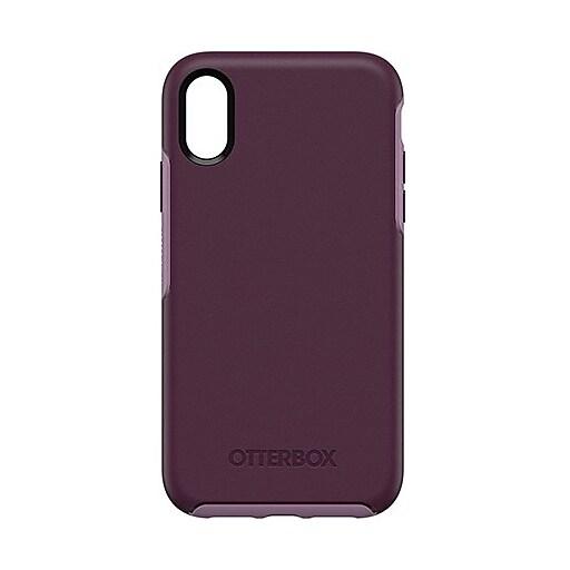 best service 4e0cc 35d8d OtterBox Symmetry Case For iPhone XR, Tonic Violet