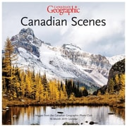 BrownTrout - Calendrier mural 2019 Scènes canadiennes Canadian Geographic, 12 po x 12 po (9781525601729)
