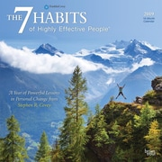 BrownTrout - Calendrier mural 2019 : 7 Habits Of Highly Effective People, 12 po x 12 po (9781465075123)