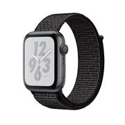 Apple Watch Nike+ Series 4, GPS, 44mm, Space Grey Aluminium Case with Black Nike Sport Loop