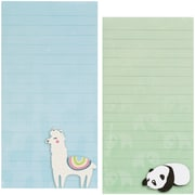 Merangue Panda and Llama Notepad