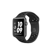 Apple – Montre Apple Watch Nike+ série 3, 42 mm, GPS, boîtier en aluminium gris cosmique, bracelet sport Nike anthracite/noir