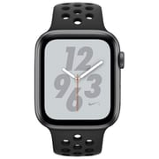 Apple Watch Nike+ Series 4, GPS + Cellular, 44mm, Space Grey Aluminium Case with Anthracite/Black Nike Sport Band