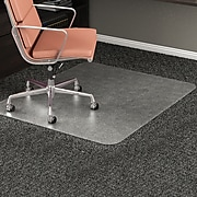 "Deflect-O® RollaMat Chairmats, 46x60"" Rectangle Shape"