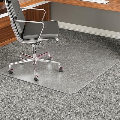 Deflecto ExecuMat® 60''x60'' Vinyl Chair Mat for Carpet, Square, Clear (DEFCM17233)
