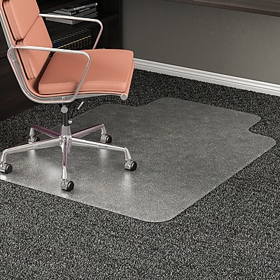 RollaMat™ Studded Beveled Mat for Medium Pile Carpet, 45 x 53