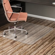 "Deflecto 46"" X 60"" Economat Chair Mat For Hard Floors"