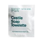 PDI D41900 Castile Hand Towelettes, 100/Pack