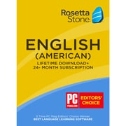 Learn English: Rosetta Stone 24-Month Online Subscription Plus Bonus Lifetime [Download]