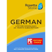 Learn German: Roset Stone 24-Month Online Subscription Plus Bonus Lifetime [Download]