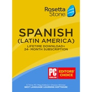 Learn Spanish: Rosetta Stone 24-Month Online Subscription Plus Bonus Lifetime [Download]