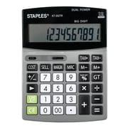 Staples 12-Digit Big Number Desktop Calculator (KT-352TR)