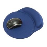 "DAC® MP-123 Super-Gel ""Racetrack"" Mouse Pad with Gel Wrist Rest, 9-3/4 x 8-1/4 x 1-1/4"", Blue"