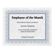 St. James® Regent Bond Certificates, Blue, 100/Pack