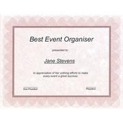 St. James Regent Bond Certificates, Red, 100/Pack