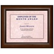 "St. James Awards & Certificate Frame, 13-1/2 x 11"" (34 x 28cm), Milano Cherry"