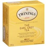 Twinings – Sachets de thé Earl Grey, paq./50