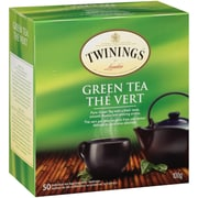 Twinings Green Eveloped Tea Bag, 50/Pack