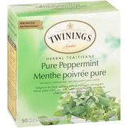 Twinings Pure Peppermint Enveloped Tea Bag, 50/Pack