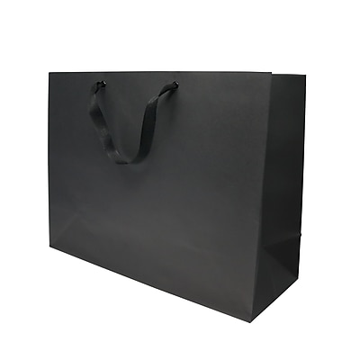 Creative Bag – Sacs Imperial, 16 x 6 x 12 po, noir, 200/paquet