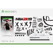 Xbox One S – Console Xbox One S de 1 To avec jeu NBA 2K19