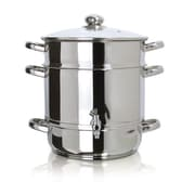 Euro Cuisine EC9500 Stove Top Juicer, Stainless Steel