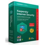 Kaspersky – Logiciel Internet Security 2018 (3 utilisateurs, 1 an)