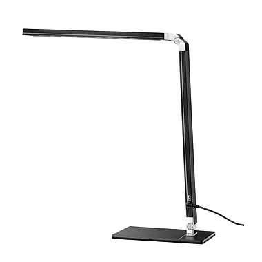 Tensor LED Foldable Low-Profile Desk Lamp with USB Charger, 16