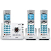 Vtech 3 Handset Connect to Cell Answering System with Caller ID/Call Waiting, Silver (DS6722-3)