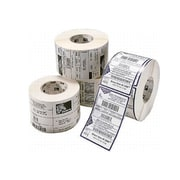 """Zebra PolyPro 4000D Direct Thermal Polypropylene Permanent Adhesive Shipping Labels, 2.25""""L x 1.25""""H, 6/Pack"""