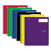 "Five Star Interactive 1 Subject Notebook, 9-1/8"" x 11"", 200 Pages, English, Assorted (06270)"