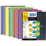 "Five Star Interactive Cover 1 Subject Notebook, 9-1/8"" x 11"", 200 Pages, English, Assorted (06374)"