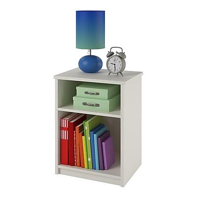 Cosco Willow Lake 4 Drawer Dresser, Light Slate Gray/White (5870321P)