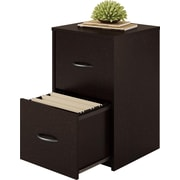 Ameriwood Home Core 2 Drawer File Cabinet, Espresso (9524012PCOM)