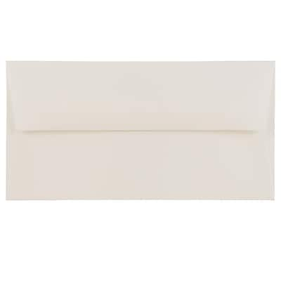"JAM Paper® Monarch Envelopes, 3 7/8"" x 7 1/2"", Strathmore Bright White Wove, 500/Box (196556H)"
