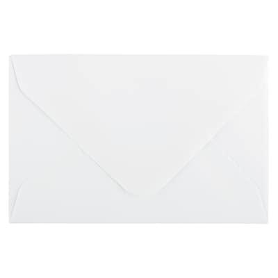 JAM Paper® 3drug Mini Small Envelopes, 2 5/16 x 3 5/8, Strathmore Bright White Wove, 1000/Carton (900967818B)