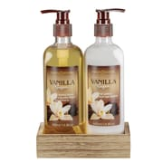 Ashley & Foster Vanilla Shower Gel and Body Lotion Gift Set