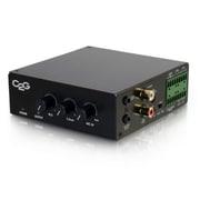 C2G 8 Ohm 50W Audio Amplifier - Plenum Rated (40880)