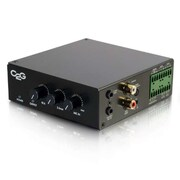 C2G 25/70V 50W Audio Amplifier - Plenum Rated (40881)