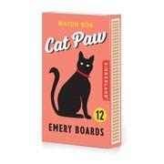 Kikkerland Cat Paw Nail Files, 12/Pack (MN68)