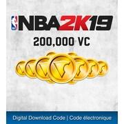 PS4 – Jeu NBA 2K19: ensemble 200000 VC [téléchargement]