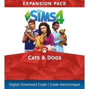PS4 – Jeu The Sims 4 : The Sims 4 Cats & Dogs [téléchargement]