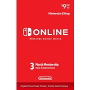 Nintendo Switch Online – Abonnement individuel en ligne, 3 mois [téléchargement]