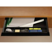 HDL 100-PD Moulded Plastic Pencil Drawer, Black