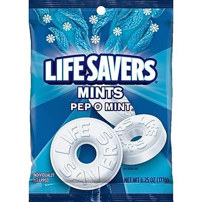 Life Savers Pep-O-Mint Mints, 6.25 Ounce Bag