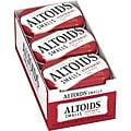 ALTOIDS Smalls Peppermint Breath Mints, 0.37oz Tin, Pack of 9 (209-00486)