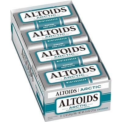Altoids Artic Wintergreen Mints, 1.2 oz, 8 Count