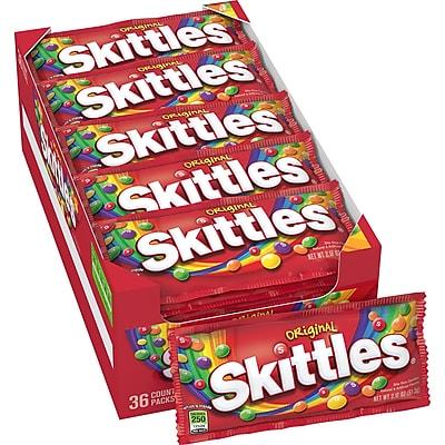 Skittles Original Candy, 2.17 oz. Bags, 36 Bags/Box